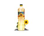 Huile de tournesol raffinée Emballage en bouteille de 1L