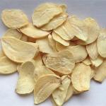 Chinese dehydrated dry garlic slice