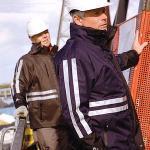 Waterproof construction workwear