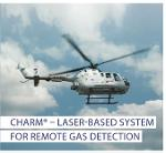 CHARM – laser-based system for remote gas detection