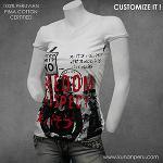 camisetas 100% algodon pima
