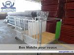 Box mobile pour veaux