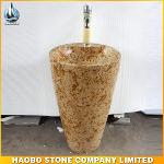 Stone Pedestal Sink HB-SK0061