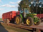 Bâche pour benne agricole en toile PVC 670 gr/m²
