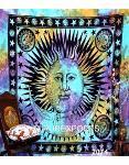 Beautiful Tie Dye Sun Mandala Wall Hanging Home Decor Tapest