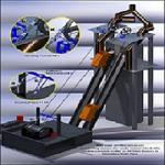 Steel Metallurgy Wire Rope Moniteur de sécurité en temps