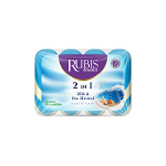 Rubis – 4 X 90 Gr Beauty Soap (2 In 1)