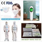 N95, KN95, FFP2 Combinaison de protection, Thermomètre
