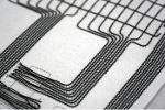 Gedruckte Schaltungen & gestickte Spulen & Elektronik