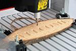 Gravação a Fresa/CNC