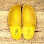 Yellow CP Slippers