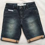 Women's denim shorts  Retro jeans shorts