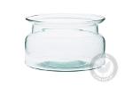 Glass bowl shaped like a jar W-332G5 H:9.5cm D:16cm
