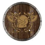 Bouclier Viking avec Ecusson 40 cm