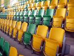 Tip-up folding chair ARENA