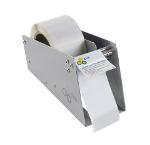 Manual label dispensers