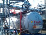 Tankcontainer für Bitumen