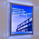 Wall Mounted Lightboxes Display
