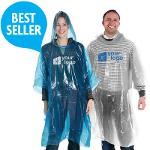 Disposable 0.02mm Rain Ponchos with your logo