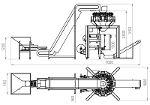Dumpling dosing and packaging line