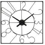 Deco Horloge 67231no - Alban Noir - Lot De 1