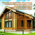 PREFAB WOOD HOMES FROM RUSSIA (LUMBER KITS)