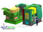 Absauganlagen für Werkzeugmaschinen Planung und Konstruktion