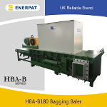 Commercial High Quality Rice Hull Press Baler Machine...