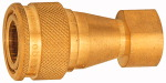Hydraulic coupling lock on both sides, Brass, G 3/4...
