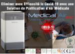 PURIFICATEUR D'AIR MEDICAL AIR PR