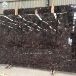 China Coffee Grid Granite Slabs Tiles
