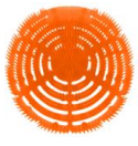 TAPIS URINOIR ANTI-SPLASH MANGUE - 5X2 PIECES/BOITE