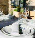 Toalha de mesa com cores Tersuisse 100% Poliéster