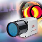 Compact infrared camera for temperature measurement of...