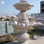 Outdoor Garden Waterwheel Fountain