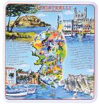 Assortiment De Canistrelli Décor Villes De Corse