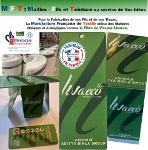 FIL ET TISSU viscose Eco Responsable LIVAECO AVEC ETIQUETTES