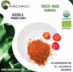 Organic Acerola Freeze-Dried Powder 50% Tapioca