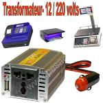 Transformateur 12- 220v