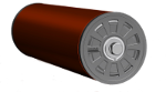Moulded End Cap Rollers