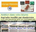 ■recyclage d'élastomère ■asphalte modifié par élastomère