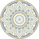Tapis Vinyle Mandala Mexico