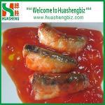 Premium quality fresh canned sardines in tomato sauce