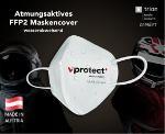 Atmungsaktives und bedruckbares FFP2 Maskencover