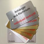 Anhänger aus Aluminium