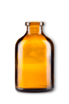 Amber Glass Injection Bottle