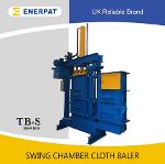Swing Chamber Cloth Baler (55-100kgs)