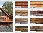 Oval wainscot patterned coating EPS panels