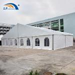 Carpa industrial de marco de aluminio grande de 20x60 m para