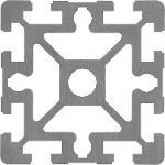Profilés Aluminium 90x90 Type B